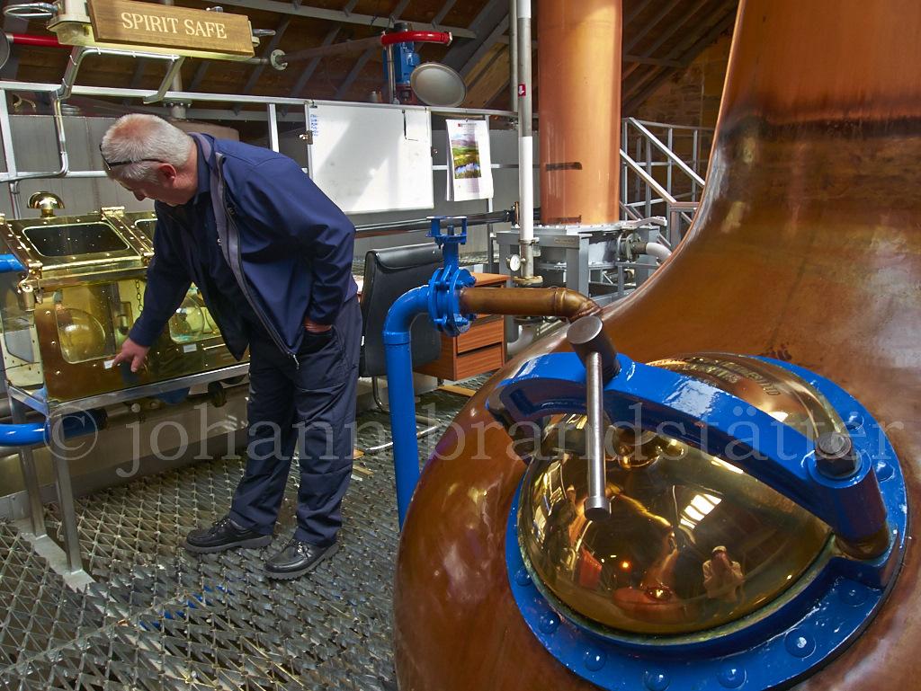 Distiller, Speyside Distillery